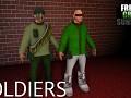 Freaky Green Sunshine - Enemy types