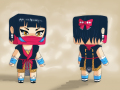 We have not forgotten women in NinjaPvP ! Do you want to look like a ninja girl?