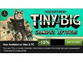 15% off on Tiny & Big while Steam Summer Sale