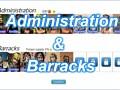 [ update ] Administration & Barracks