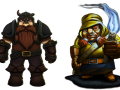 Designing the Difference – Pitman and Dwarf Quest compared