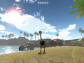 Ostrich Island kick-all-the-stuff crowd sourcing campaign started