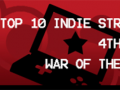 Human Tanks place 4th in Indie Strategy of 2012