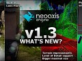 NeoAxis 3D Game Engine 1.3 Released