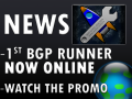First BGP Runner Online now!