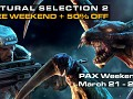 FREE Weekend & 50% OFF