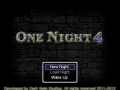 One Night 4 Demo 4.4.13 Released!