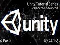 Unity Tutorial Series (Post 1-50)
