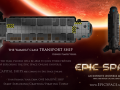 Soon you can pilot this ship with a real human crew. -- In an infinite universe.
