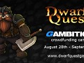Dwarf Quest 2 crowdfunding campaign