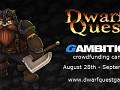 Dwarf Quest 2 crowdfunding campaign