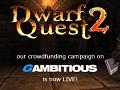 Dwarf Quest 2 crowdfunding campaign now live!