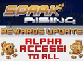 To all Kickstarter Backers: Alpha Access To All!
