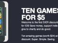 Thumb Arcade Sells iTunes Games Below Dollar Threshold