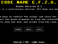 Code Name E.F.Z.G. - 3D Puzzle Game for Win-OSX-Linux