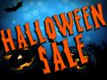 Halloween sale is coming!