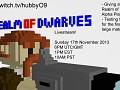 First Big Match Livestream Announcement + Weekly news 11/8/2013