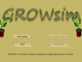 """GROWsim"" demo now available!"