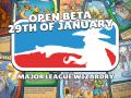 Update 13: Open beta next week