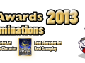 The Path of the Pumpkin and A Cat's Night 2 are nominated at the AGS Awards 2013