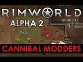 RimWorld Alpha 2 - Cannibal Modders released