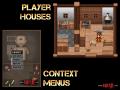 Player houses and item menus