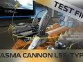 Test Firing the Plasma Cannon L5S-TYPE in Robocraft