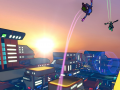 New in game footage for the dynamic parkour game Hover : RoG