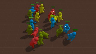 Gang Beasts 0.0.3 Pre-alpha Build Information
