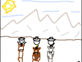Paper Cowboys Dev: End of round, and the Eagle!