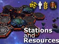 Stations and Resources