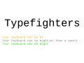 Announcing Typefighters for Q3/2014