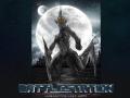 Battlestation graphic sci-fi novel first material presented