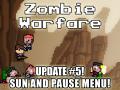 Zombie Warfare Update #5 - Sun and Pause Menu!