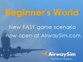New game scenario at AirwaySim