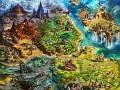 Spellweaver TCG`s Main Screen and World Map ready