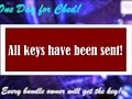 The keys have been sent! (For those ones who bought the game on bundles)