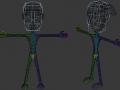 Final main character model and tools