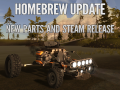UPDATE: Steam, here we come!