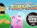 Johnny Scraps smashing in Lisbon Games Week