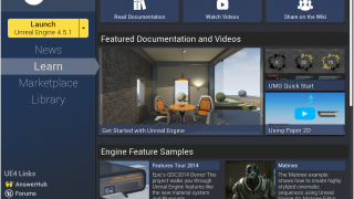 Unreal Engine 4 - The Learn Tab