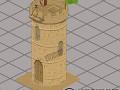 Arabian Archer Tower Building
