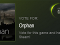 Orphan Now On Steam Greenlight