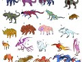 The Creatures of ExtroForge
