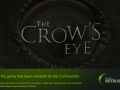 The Crow's Eye has been accepted on Steam!