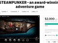 Steampunker 100% funded at Indiegogo