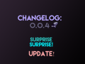 Changelog Entry 0.0.4