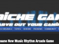 Niche Gamer: Neon FM is an Insane New Music Rhythm Arcade Game