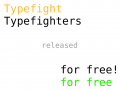 "Competitive typing game ""Typefighters"" released for free"
