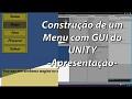 Série de vídeo aula ensinando a fazer um menu HUD